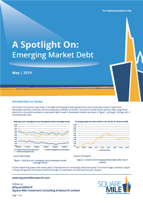 A Spotlight On: Emerging Market Debt