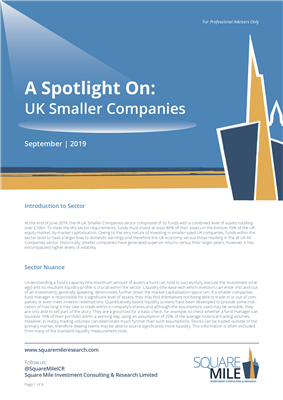 A Spotlight On: UK Smaller Companies