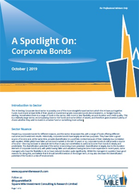 A Spotlight On: Corporate Bonds