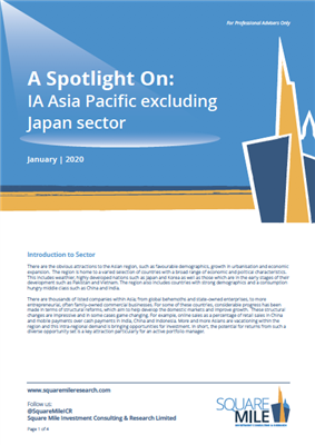 A Spotlight On: IA Asia Pacific excluding Japan