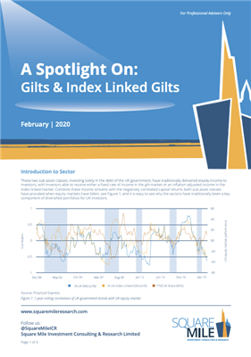 A Spotlight On: Gilts and Index Linked Gilts