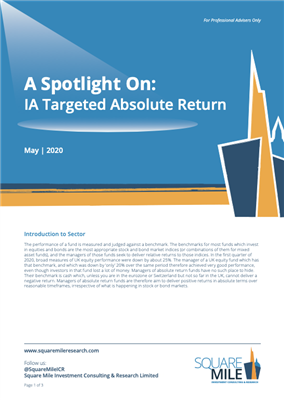 A Spotlight On: IA Targeted Absolute Return
